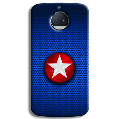 Captain America Side Star Moto G5s Plus Case