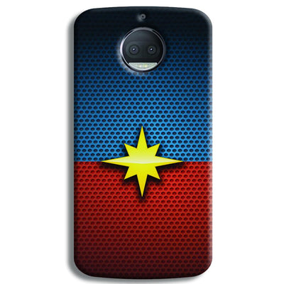 Captain Marvel Moto G5s Plus Case