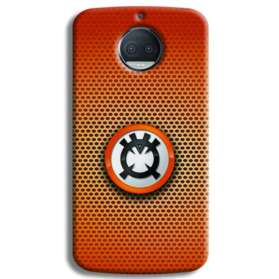 Orange Lantern Moto G5s Plus Case
