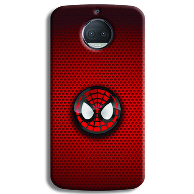 Spider Man Logo Moto G5s Plus Case