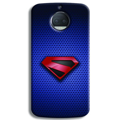 Superman Blue Moto G5s Plus Case