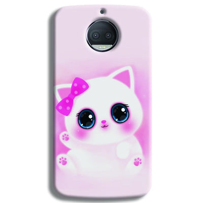 Pink Cat Moto G5s Plus Case