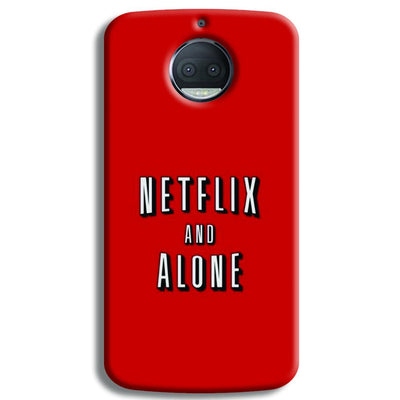 Netflix and Alone Moto G5s Plus Case