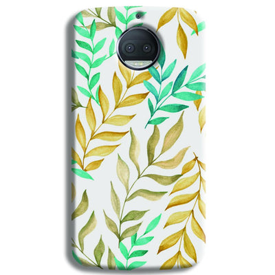 Tropical leaves  Moto G5s Plus Case