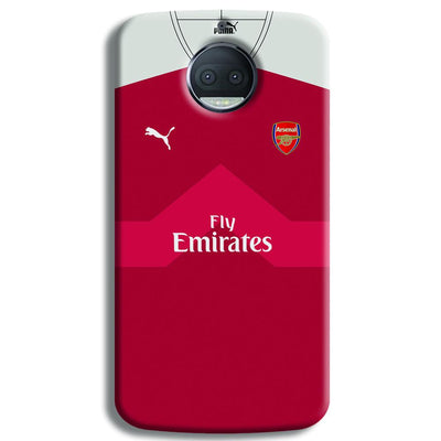 Arsenal F.C. Jersey Moto G5s Plus Case