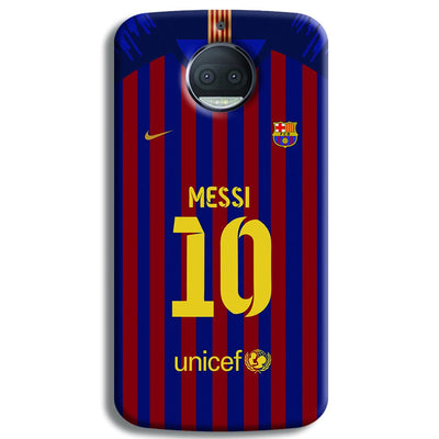 Messi (FC Barcelona) Jersey Moto G5s Plus Case
