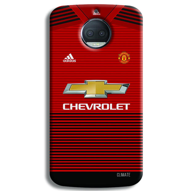 Manchester United Jersey Moto G5s Plus Case