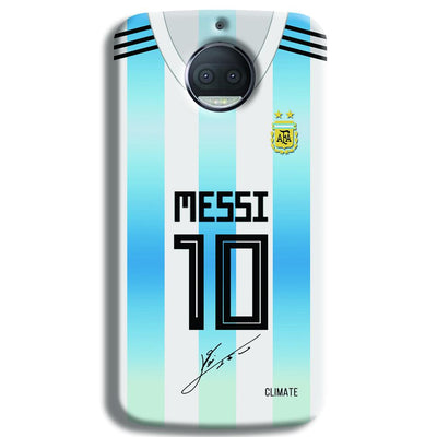 Messi Jersey Moto G5s Plus Case