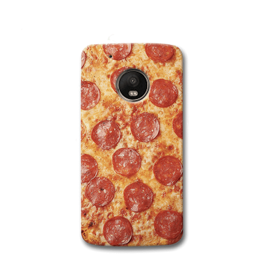 Pepperoni Pizza Moto G5s Case