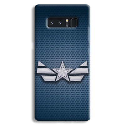 Captain America Costume Samsung Note 8 Case