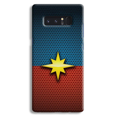 Captain Marvel Samsung Note 8 Case