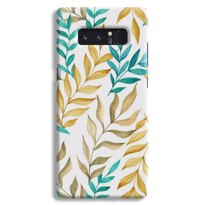 Tropical leaves  Samsung Note 8 Case
