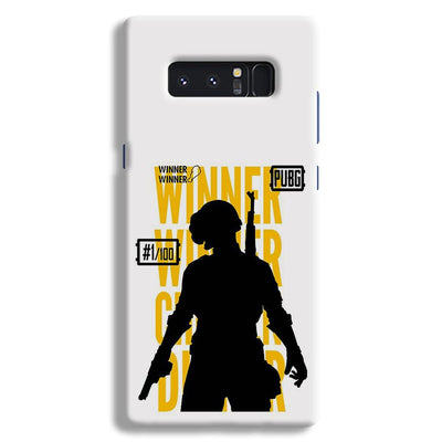 Pubg Winner Winner Samsung Note 8 Case