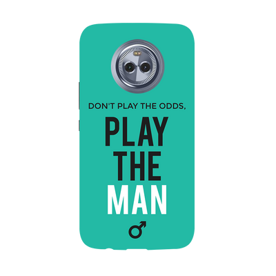 Don't Play the Man Moto X4 Case