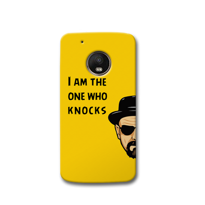 I Am The One Who Knocks Moto G5s Case
