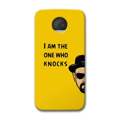 I Am The One Who Knocks Moto G5s Plus Case