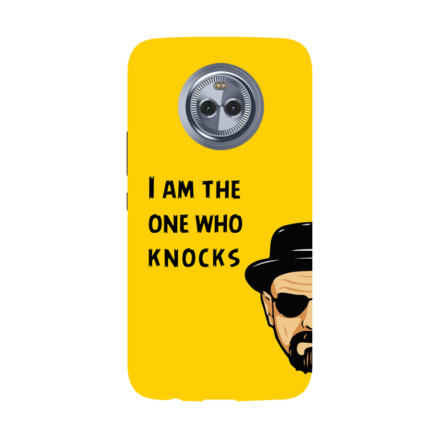 I Am The One Who Knocks Moto X4 Case