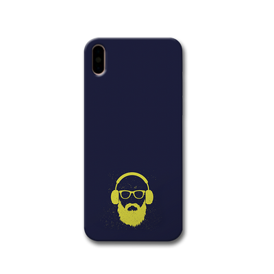Bearded Man Apple iPhone X Case