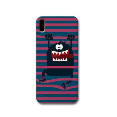 Laughing Monster Apple iPhone X Case