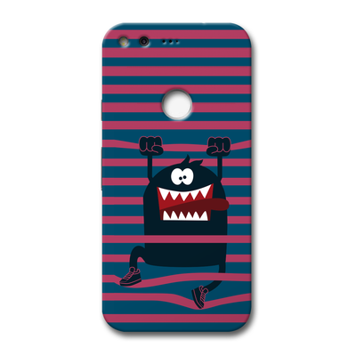 Laughing Monster Google Pixel Case