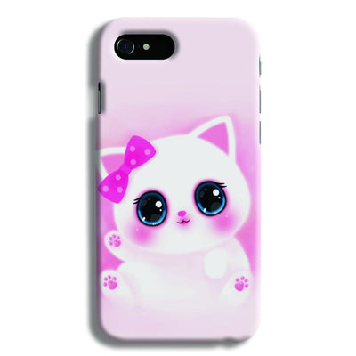 Pink Cat iPhone 8 Case