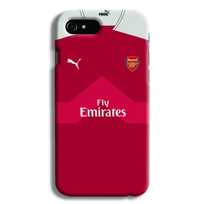 Arsenal F.C. Jersey iPhone 8 Case