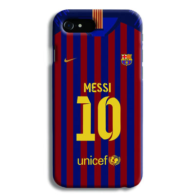 Messi (FC Barcelona) Jersey iPhone 8 Case
