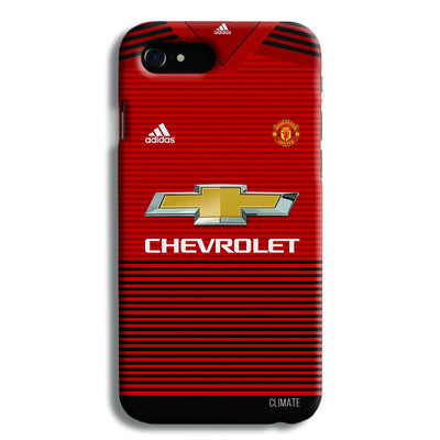 Manchester United Jersey iPhone 8 Case
