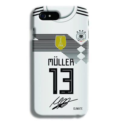 Muller Jersey iPhone 8 Case