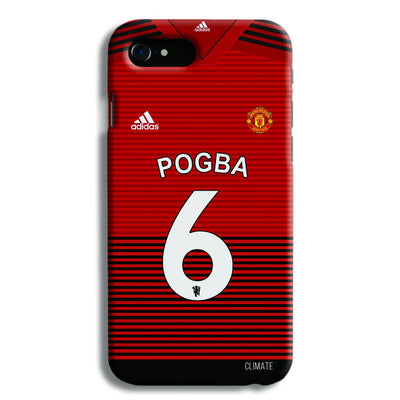 Pogba Jersey iPhone 8 Case