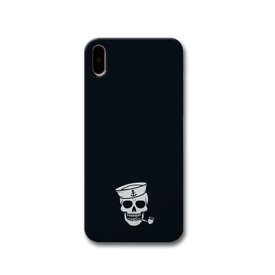 Smoking Skull Apple iPhone X Case