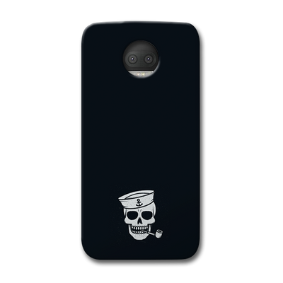 Smoking Skull Moto G5s Plus Case