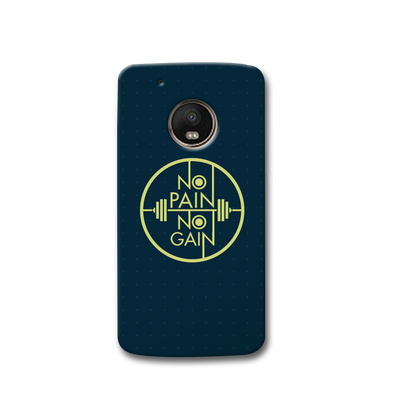 No Pain No Gain Moto G5s Case