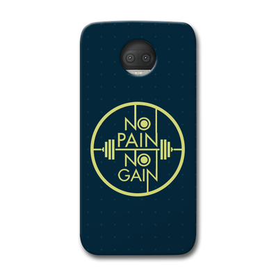 No Pain No Gain Moto G5s Plus Case
