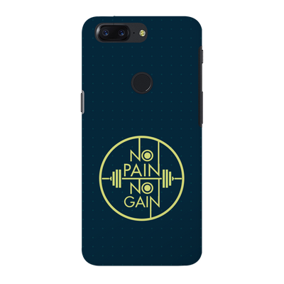 No Pain No Gain OnePlus 5T Case