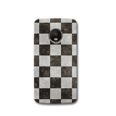 Checkered  Moto G5s Case