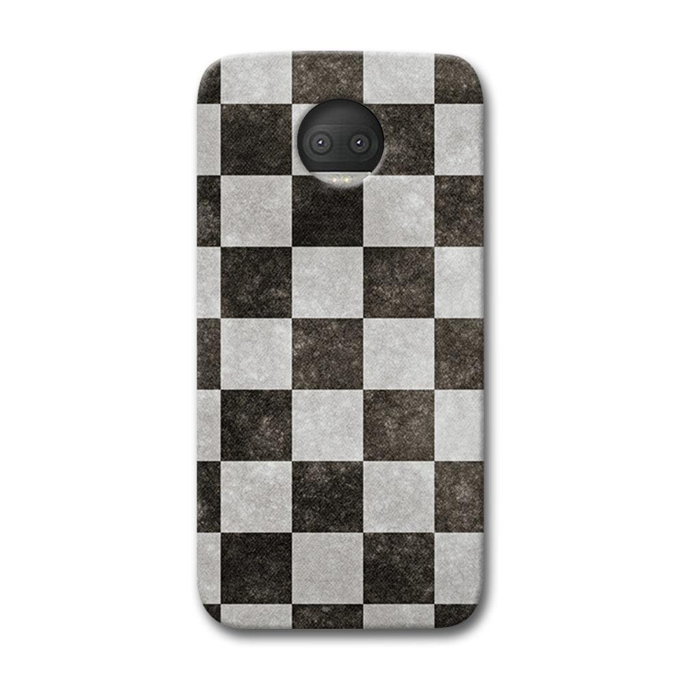 Checkered  Moto G5s Plus Case