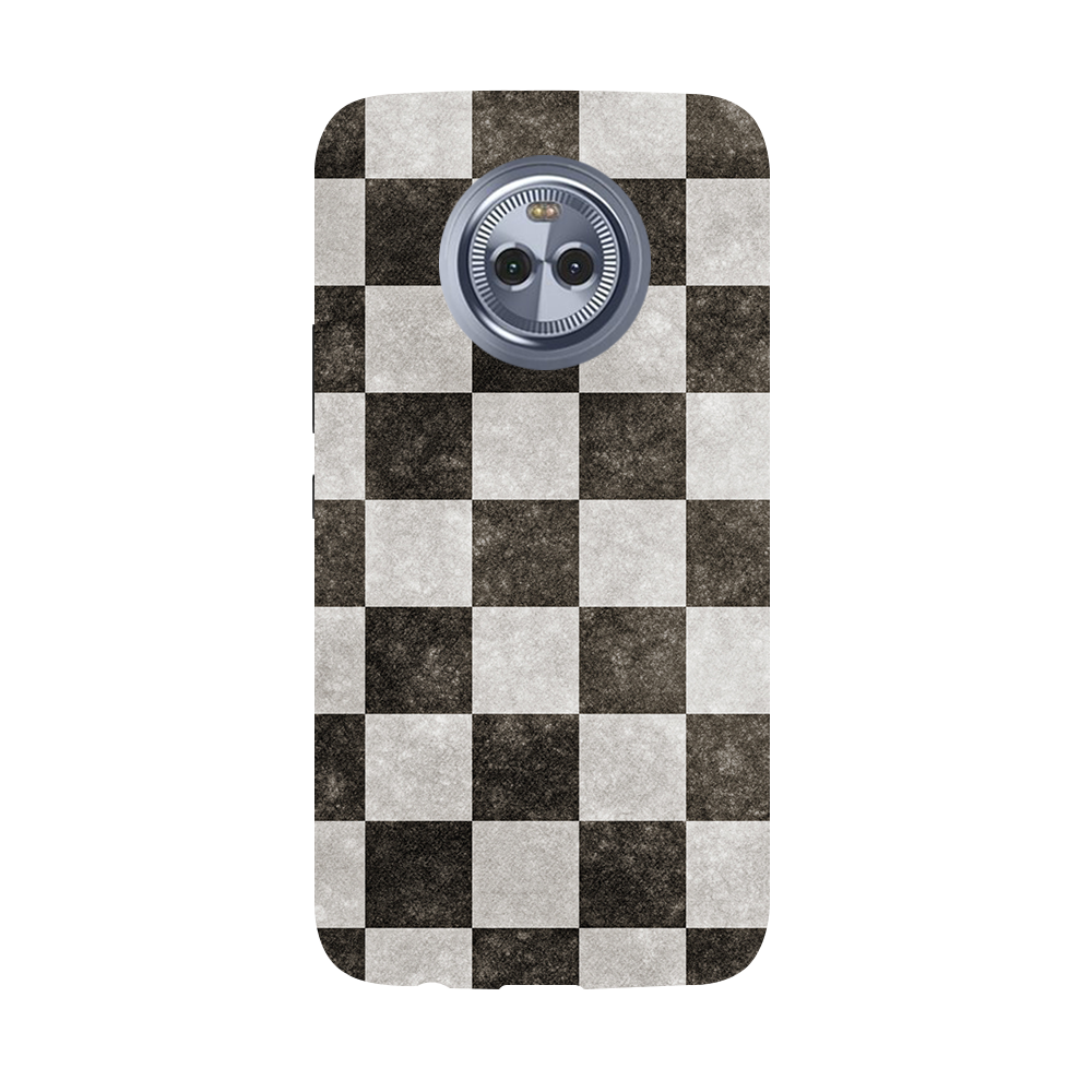 Checkered  Moto X4 Case