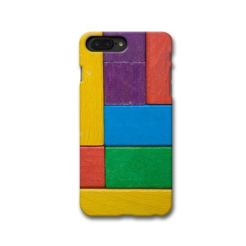 Color Block Apple iPhone 8 Plus Case