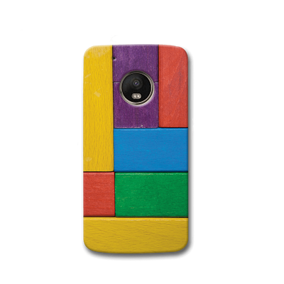 Color Block Moto G5s Case