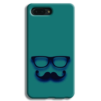 Cute mustache Blue iPhone 8 Plus Case