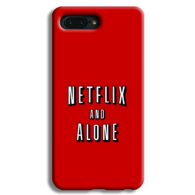 Netflix and Alone Apple iPhone 7 Plus Case