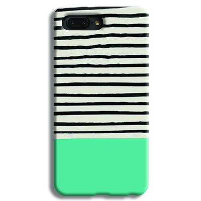 Aqua Stripes Apple iPhone 7 Plus Case