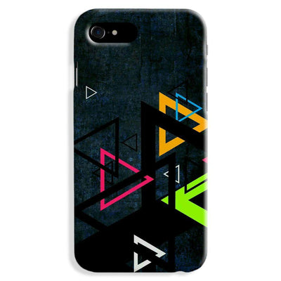 Triangular Pattern Apple iPhone 7 Plus Case