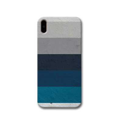 Greece Hues Apple iPhone X Case
