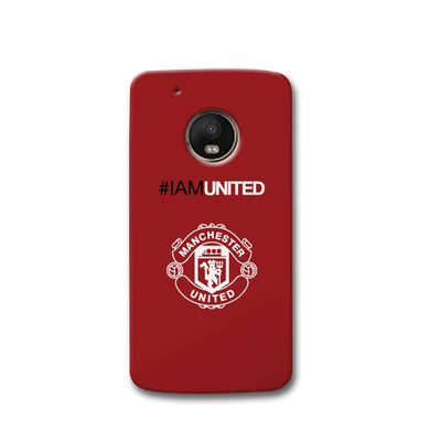 I Am United Moto G5s Case