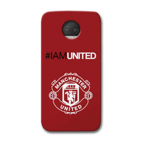 I Am United Moto G5s Plus Case