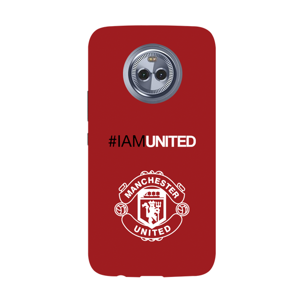 I Am United Moto X4 Case
