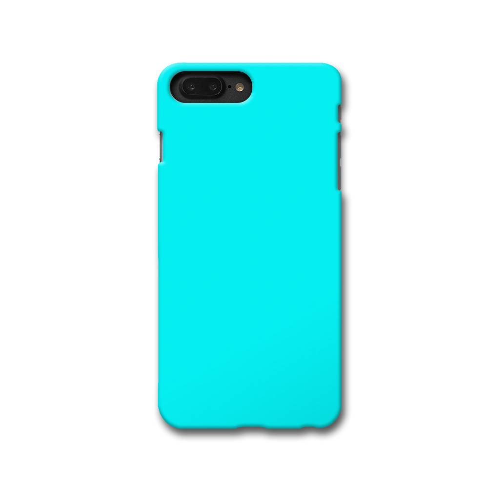 Aqua Blue Apple iPhone 8 Plus Case
