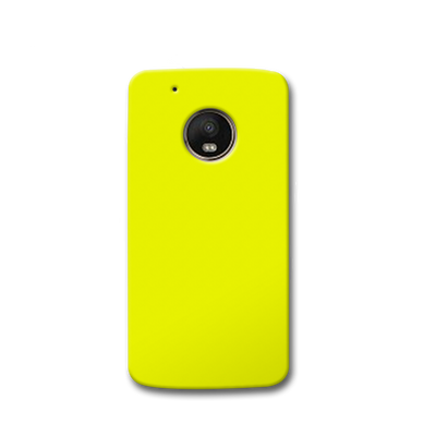 Yellow Moto G5s Case